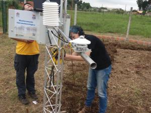 Nova estação meteorológica automática em Canoinhas