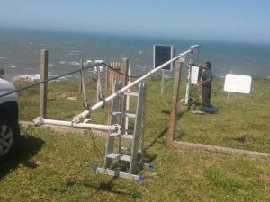 Estação meteorológica de Laguna novamente ativa