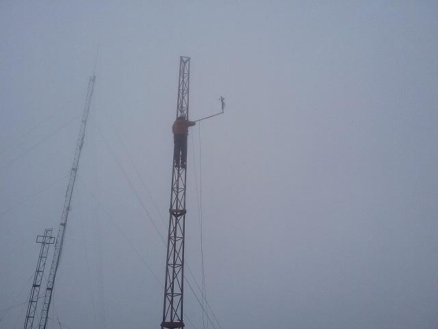 Morro das Antenas, em Urupema, novamente com monitoramento eólico