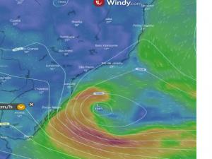 Vídeo – Saiba mais sobre o ciclone extratropical que vai atuar no litoral sul nesta semana