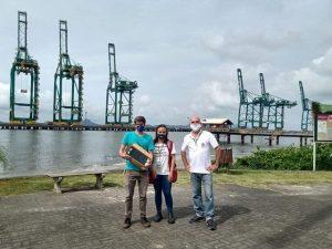 EPAGRI, PORTO ITAPOÁ e INMET garantem funcionamento da coleta de dados climáticos da estação meteorológica de Itapoá