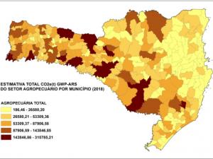 Read more about the article Municípios maiores emissores de gases de efeito estufa no setor agropecuário catarinense