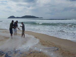 Read more about the article 1º de maio com boas notícias para pesca da tainha!