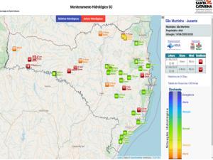 Read more about the article Vídeo – Situação Hidrológica em Santa Catarina