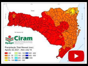 Read more about the article Video: 1ª Quinzena de Agosto Seca em SC