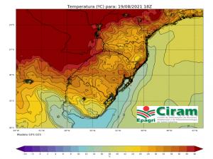 Read more about the article Semana termina com temperatura de verão