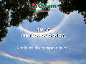 Read more about the article Primavera mais seca e quente no Oeste e Meio-Oeste de SC